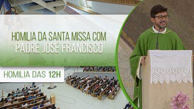 Homilia da Santa Missa com Padre José Francisco (19/09/2020)