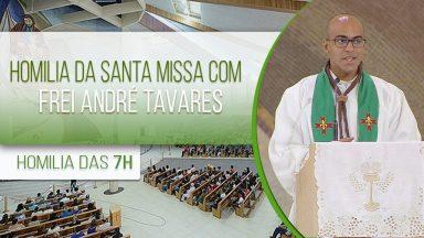 Homilia da Santa Missa com Frei André Tavares (10/10/2020)