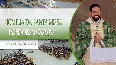 Homilia da Santa Missa - Padre Adriano Zandoná (16/10/2020)