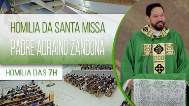Homilia de Santa Missa - Padre Adriano Zandoná  (18/10/2020)