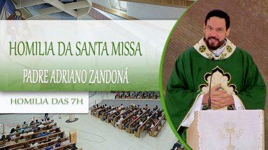 Homilia da Santa Missa - Padre Adriano Zandoná 09/10/2020
