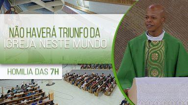 Não haverá triunfo da Igreja neste mundo - Padre Edison de Oliveira (27/10/2020)