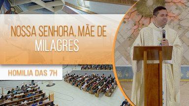Nossa Senhora, mãe de milagres - Padre Elenildo Pereira (12/10/2020)