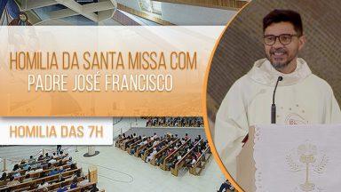 Homilia da Santa Missa com Padre José Francisco (07/10/2020)