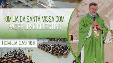 Homilia da Santa Missa com Padre Padre José Celestino (08/10/2020)