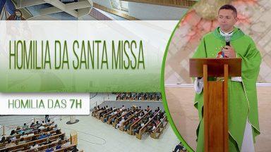 Homilia da Santa Missa - Padre Elenildo Pereira  (30/10/2020)