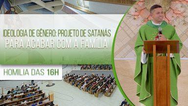 Ideologia de gênero: projeto de satanás para acabar com a família - Padre Elenildo  (29/10/2020)