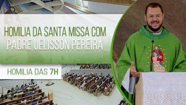 Homilia da Santa Missa - Padre Uélisson Pereira (30/10/2020)