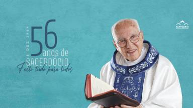 Monsenhor Jonas completa aniversário sacerdotal nesta terça-feira