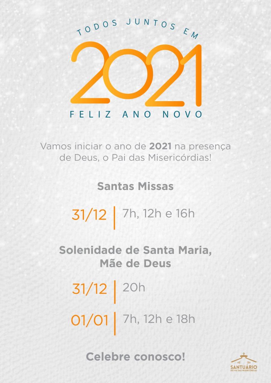 Todos Juntos em 2021- Feliz ano novo!