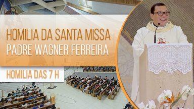 Homilia da Santa Missa - Padre Wagner Ferreira (26/01/2021)