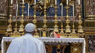 Papa confia sua viagem ao Iraque à proteção da Virgem Maria