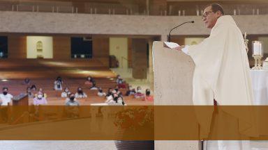 Santuário Pai das Misericórdias comunica reabertura de Missa presencial