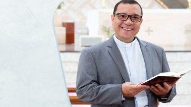 Pe. Wagner celebra um ano como vice-reitor do Santuário