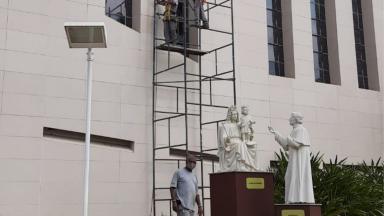 Santuário do Pai das Misericórdias realiza manutenções