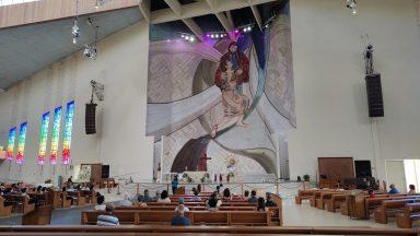 Santuário retoma Momento com o Pai das Misericórdias