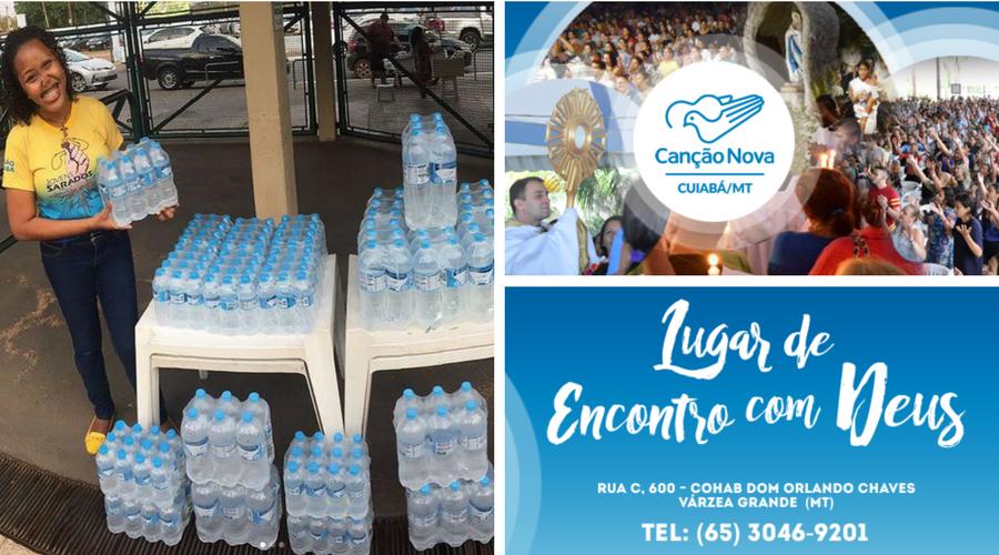 Água Canção Nova chega em Cuiabá, Mato Grosso
