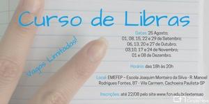 CURSO DE EXTENSÃO - LIBRAS