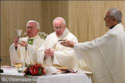 Missas na Santa Marta estão suspensas durante período pascal