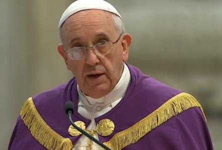 Deus nunca se cansa de amar, diz Papa em Celebração Penitencial