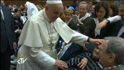 Francisco pede caridade e atenção aos enfermos