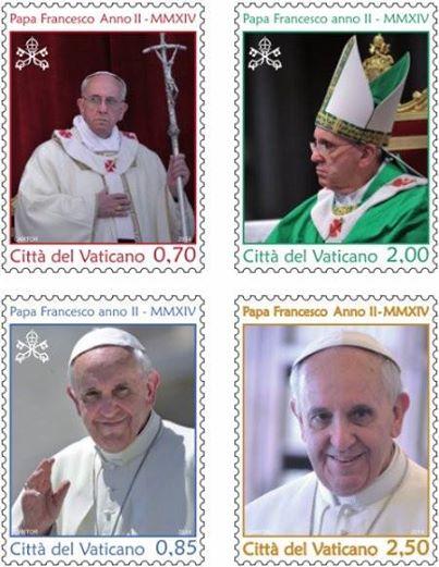 Selo comemora 1º Ano de Pontificado de Francisco