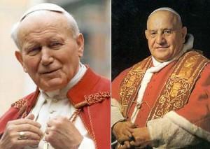 JPII e João XXIII