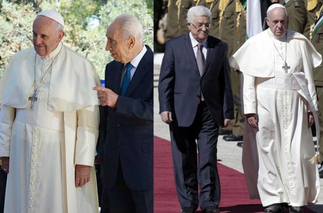 Shimon Peres e Mahmoud Abbas aceitam convite do Papa