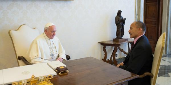 papa e governador-geral da nova zelândia 2