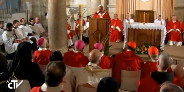 Em despedida da Terra Santa, Papa preside Missa no Cenáculo