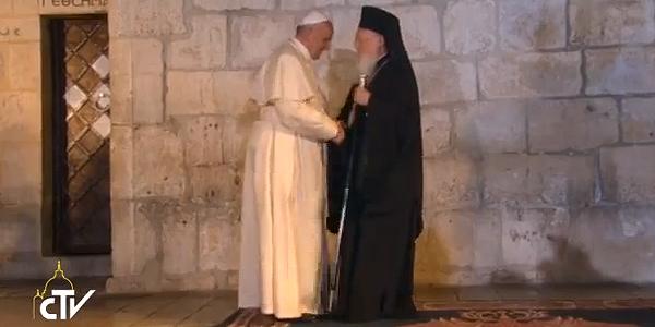 Escutar apelo por unidade, pede Papa em celebração ecumênica