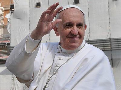 Papa visita Caserta
