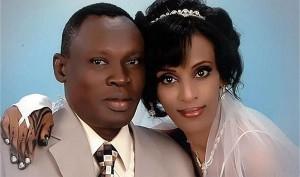 Meriam e o marido, Daniel Wani / Foto: Arquivo