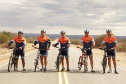Ciclistas já pedalaram cerca de três mil quilômetros / Foto: Rádio Vaticano