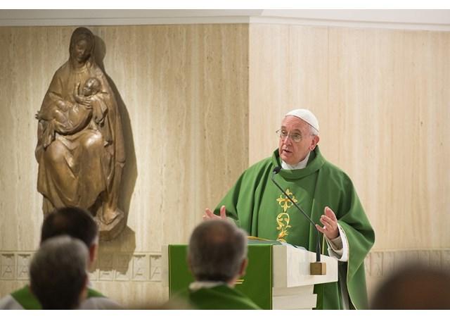 Santo Padre alerta sobre risco da vaidade, que leva à fraude / Foto: Arquivo-L'Osservatore Romano
