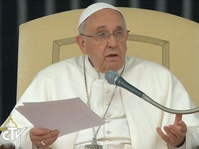 catequese papa carismas na igreja