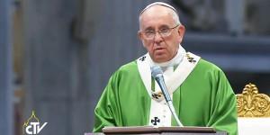 Papa durante missa neste domingo, 12, no Vaticano / Foto: Reprodução vatican YouTube