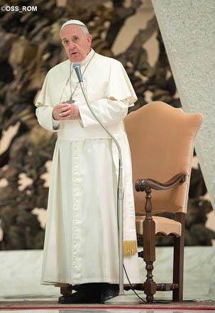 Francisco fala sobre unidade entre cristãos a um grupo de evangélicos / Foto: L'Osservatore Romano