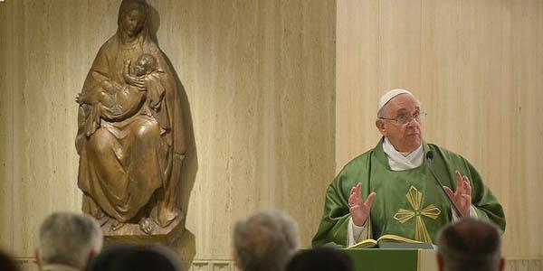 Francisco diz que o bom cristão não deve ter medo de arriscar tudo para resgatar um pecador / Foto: L'Osservatore Romano