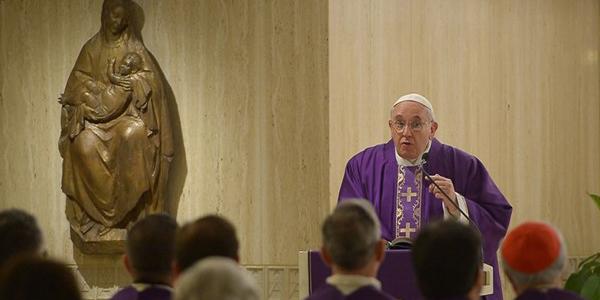 Papa diz que cristãos são misericordiosos; rigidez é sinal de coração fraco / Foto: L'Osservatore Romano