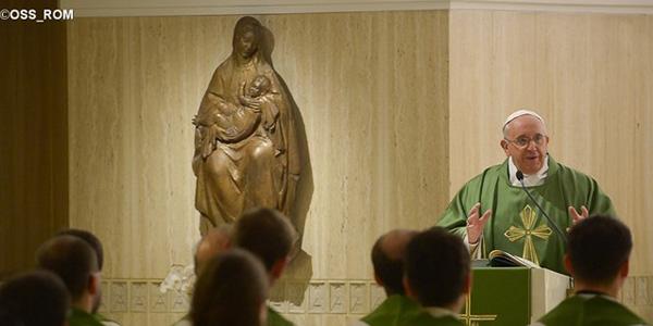 Francisco fala aos fiéis sobre a misericórdia de Deus / Foto: L'Osservatore Romano