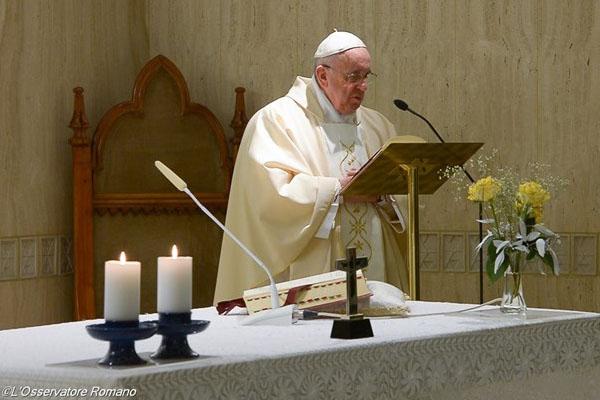 Santo Padre destacou como o Espírito Santo pode abrir o coração da pessoa a Deus / Foto: L'Osservatore Romano