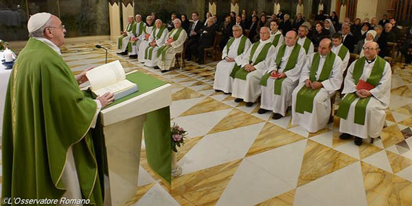 Francisco orienta fiéis a rezar e pedir a graça de realizar a vontade de Deus / Foto: L'Osservatore Romano