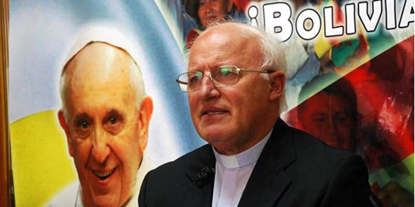 Dom Scarpellini comenta início dos preparativos para a visita de Francisco à Bolívia / Foto: Rádio Vaticano