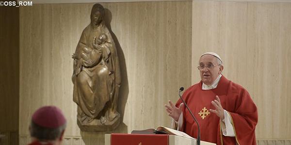 Francisco diz que missão da Igreja é curar as feridas do coração / Foto: L'Osservatore Romano