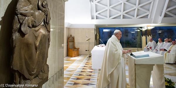 Em homilia, Papa Francsico enfatiza necessidade do cristãos se colocarem em caminho para conhecer Deus / Foto: L'Osservatore Romano