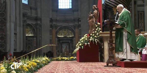 Na Basílica Vaticana, Francisco fala aos novos cardeais sobre a compaixão de Jesus, um modelo a seguir / Foto: Reprodução CTV