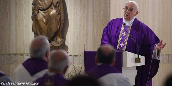 Francisco pede cristãos alegres, que tenham confiança em Deus / Foto: L'Osservatore Romano