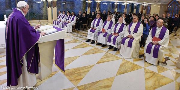 Francisco adverte sobre perigo da mundanidade / Foto: L'Osservatore Romano