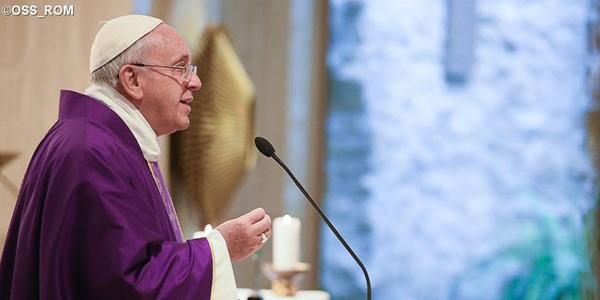 """Francisco destaca necessidade de ser cristão sem """"mas"""", aceitando a vontade de Deus / Foto: L'Osservatore Romano"""
